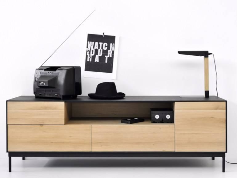 meuble tv blackbird ethnicraft magasin de meubles design lyon ameublement et d coration. Black Bedroom Furniture Sets. Home Design Ideas
