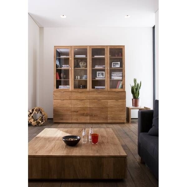 vitrine groove en teck ethnicraft magasin de meubles design lyon ameublement et d coration. Black Bedroom Furniture Sets. Home Design Ideas
